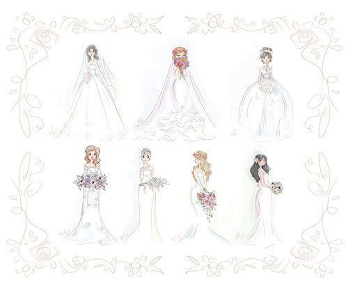 Bridal Sketches