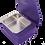 Thumbnail: Jewelry Ultrasonic Cleaner Jewelry .6 | Purple