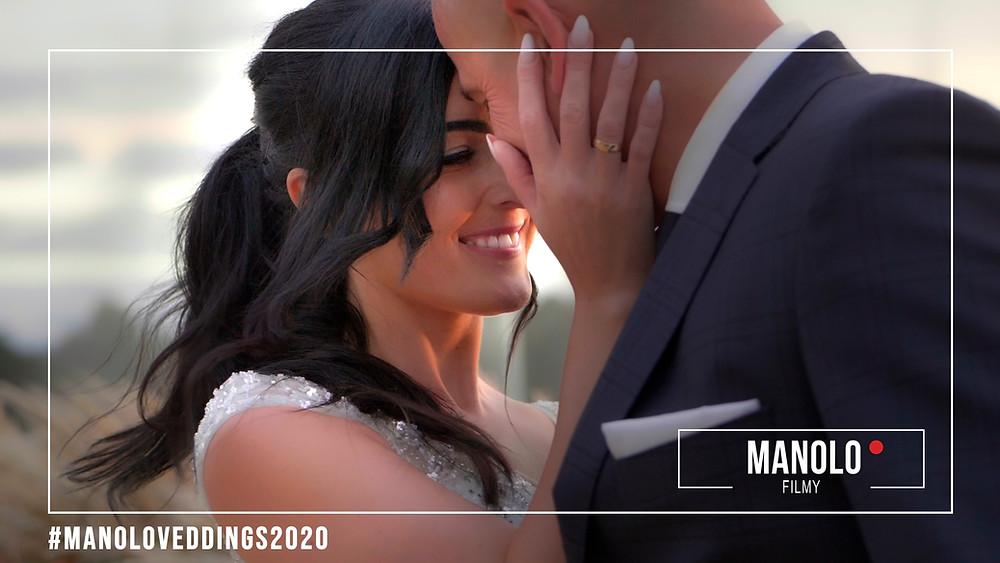 Sasja plenerowa na MOLO , teledysk ślubny ,  młoda para