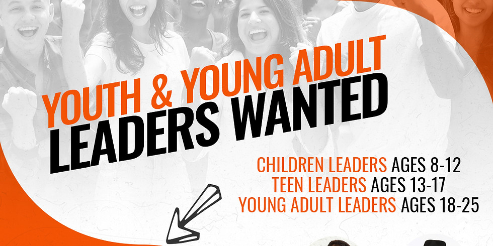Youth & Young Adult Leaders Wanted