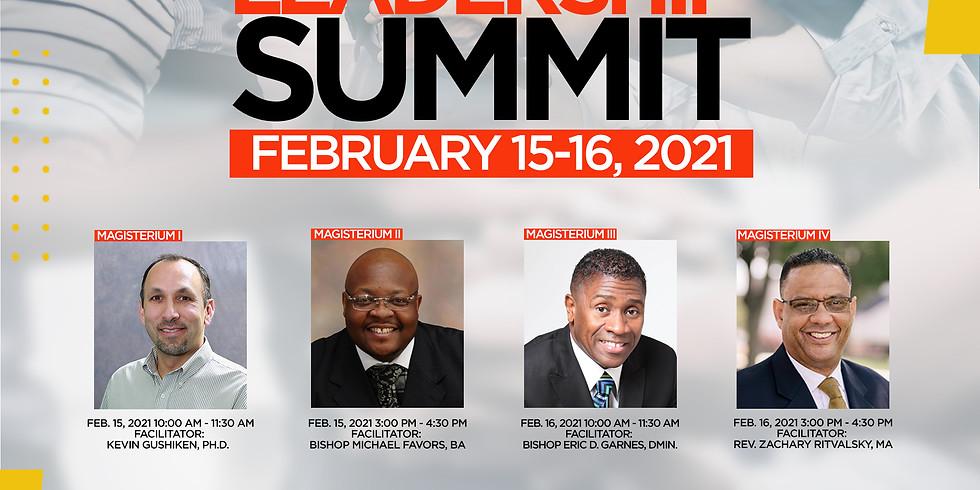 Leaderhsip Summit Feb 15th-16th, 2021