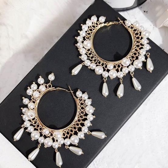 Boho Fashion Hoop Earrings