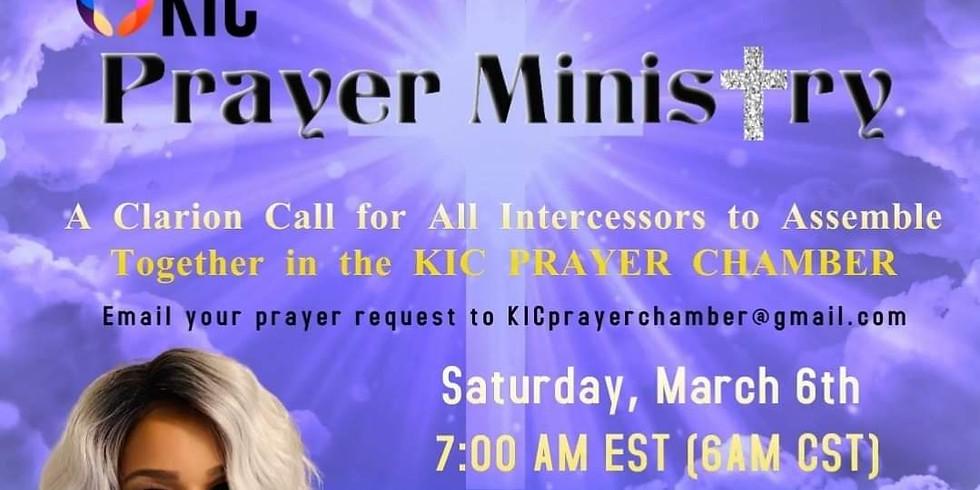 KIC Prayer Ministry Launch