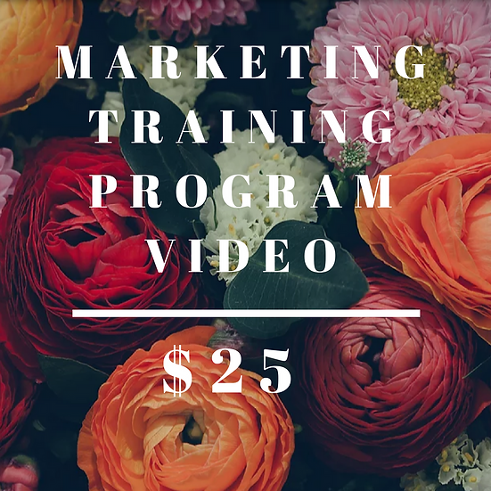 Marketing Training Program Video