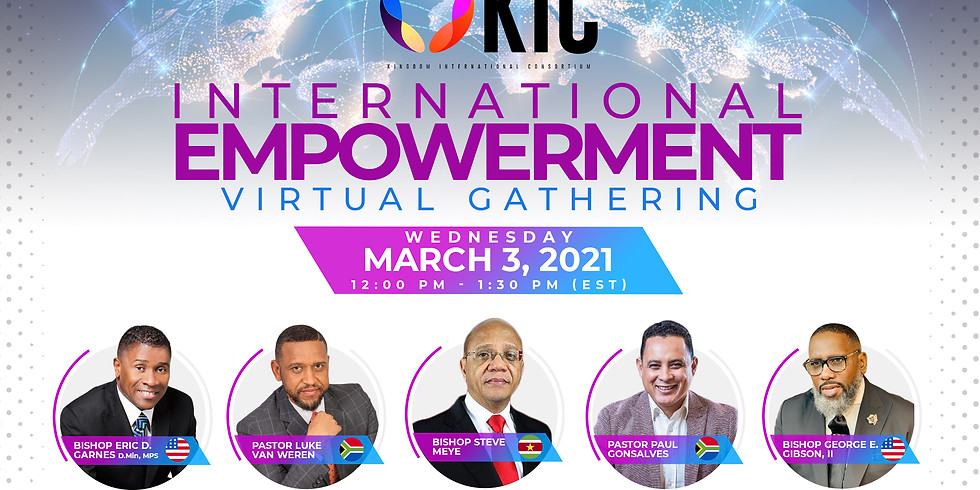 KIC International Empowerment Virtual Gathering