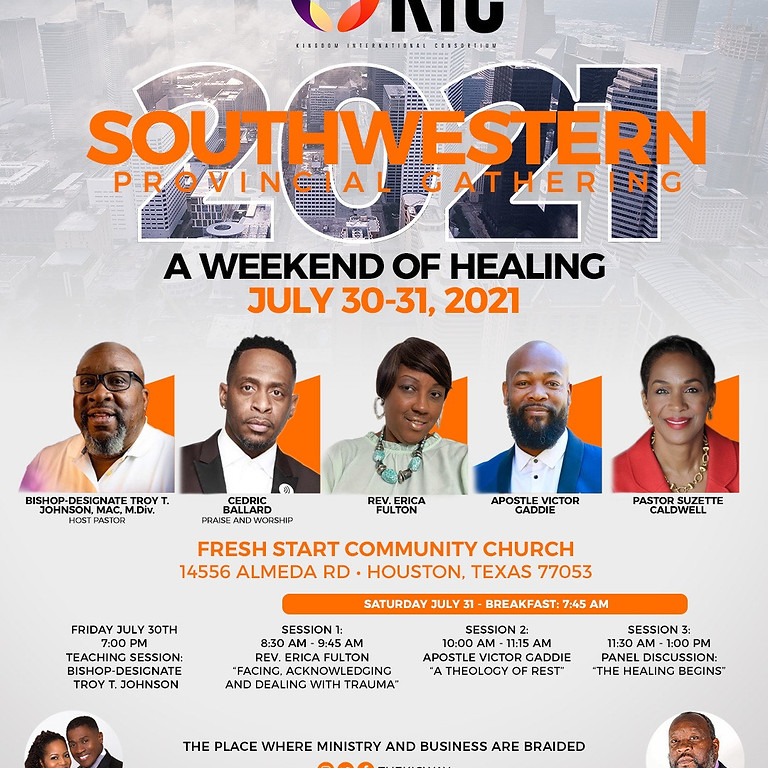 "Southwestern Provincial Gathering ""A Weekend of Healing"""
