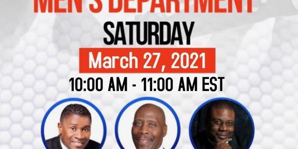 Northeastern Providence Men's Department Saturday Zoom Meeting