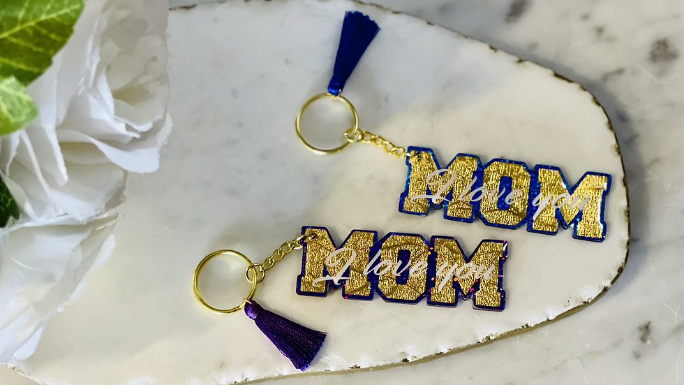 'I love you Mom' Acrylic Keychain