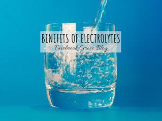 Benefits Of Electrolytes