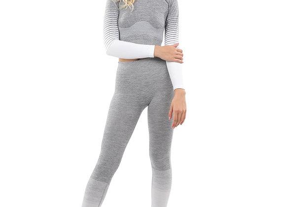 ETHKL Bocana Seamless Grey & White Sports Set