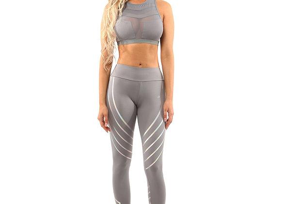 ETHKL Grey Leggings & Sports Bra Set