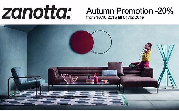 Zanotta Autumn Promotion
