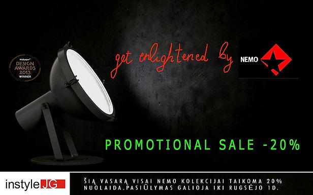 NEMO Promotional Sale -20%