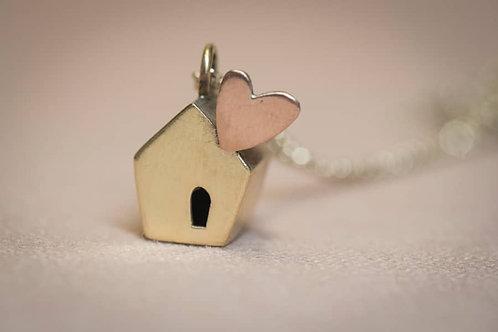 Collana small HOME+HEART