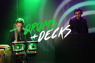 drums-&-decks-percussion-and-dj-for-hire