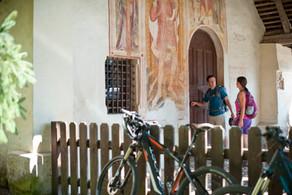 Mountainbike Paar St. Helena Deutschnofe