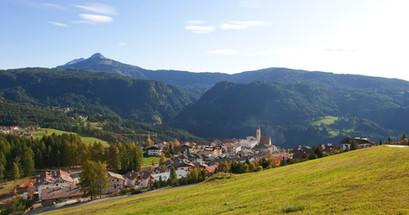 Deutschnofen Dorf Weißhorn Schwarzhorn -