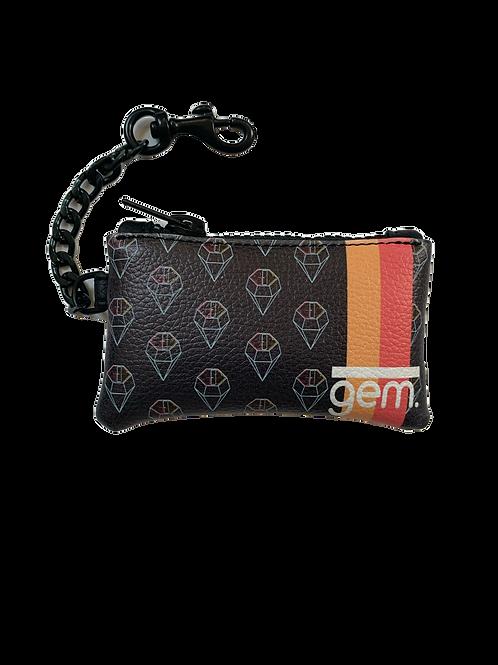 GEMwallet 009 - Black Leather