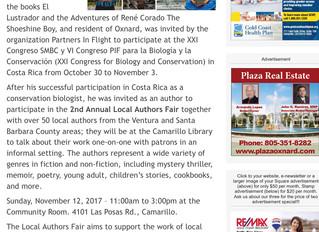 2nd Annual Local Authors Fair
