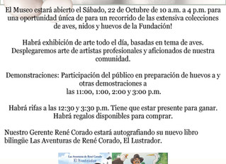 Open House at the museum Open House en el museo