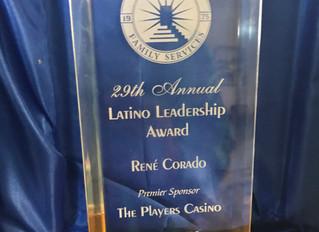 Latino Leadership Award/Galardòn de Liderazgo Latino
