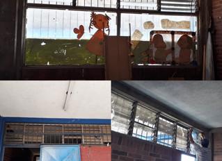 Fixing a school in Guatemala