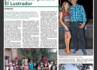 June 24 event for the movie El Lustrador.