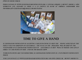 Accepting Donations/Aceptando Donaciones