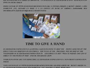 Accepting Donations/Aceptando Donaciones