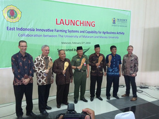 Massey agribusiness expertise applied to Indonesia