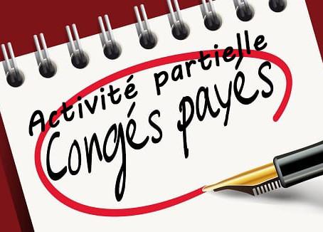 Activité partielle et acquisition des congés payés
