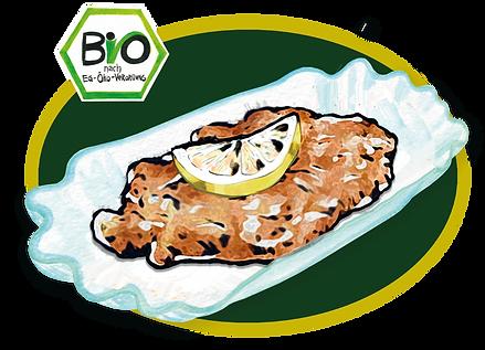 WITTY'S Organic Food Berlin Bio Bioland Schnitzel Gemälde Kunst Katja Wiedemann MoabiterWerbeAgentur M.W.A Tim Müller Unsere Spezialitäten Hauptgerichte Gerichte