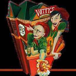 WITTY'S Imbissbude Gemälde Kunst Katja Wiedemann Shopdesign