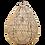 Thumbnail: Suspension Rotin 50cm