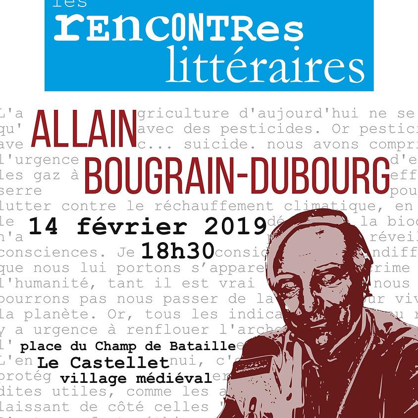 Rencontre avec Allain Bougrain-Dubourg