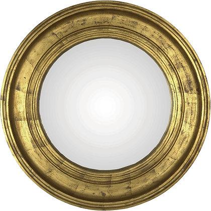 Miroir convexe doré  74cm