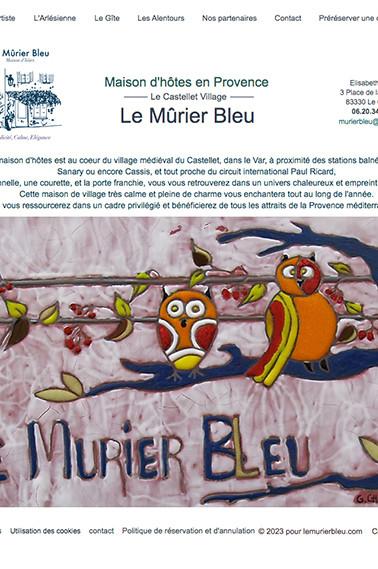 Maison d'hôte Le Murier Bleu