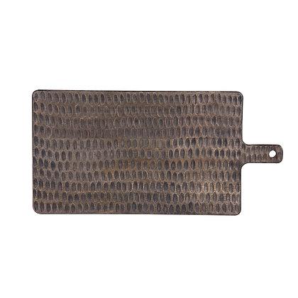 Planche à découper en manguier goutte 50x25 cm