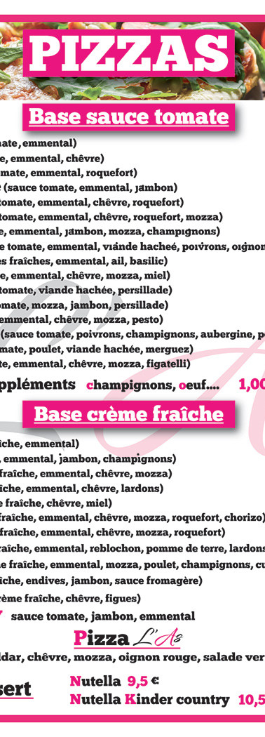 Flyer snack l'As