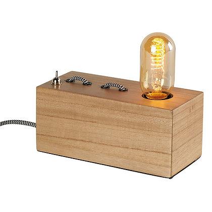 Lampe à poser base rectangulaire