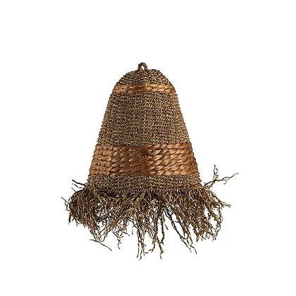 Abat jour en fibres naturelles