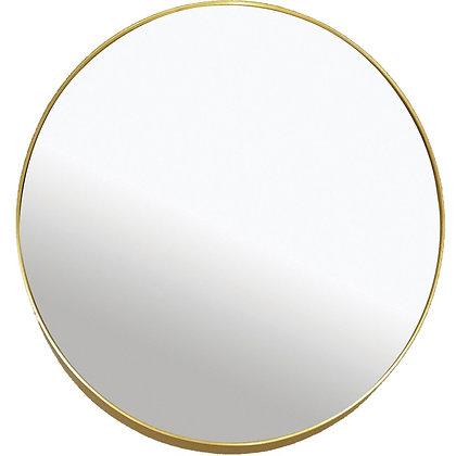 Miroir métal doré asymétrique