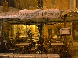 Auberge de l'Ormeau sous la neige