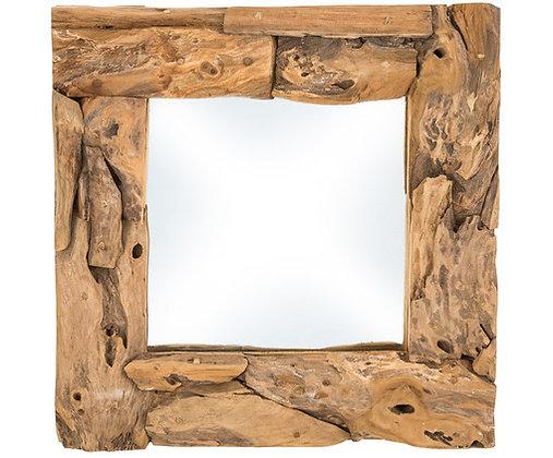 Miroir cadre Bois rustique