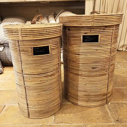 Set de Paniers à Linge Rotin