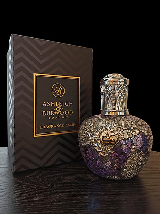Lampe Parfum L Silver-Purple (Ashleigh & Burwood)