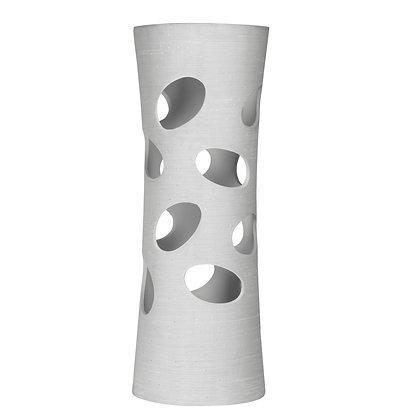 Lampe céramique droite 60 cm gris pluton