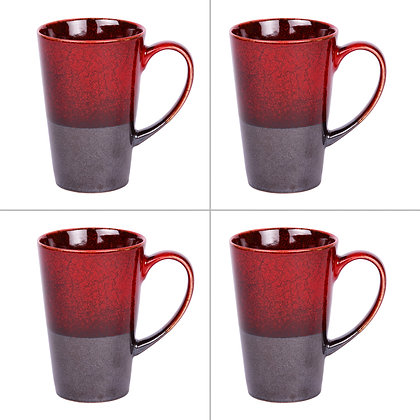 Coffret de 4 mugs jasper 30 cl