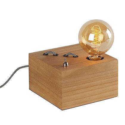 Lampe à poser base carré