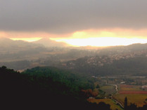 Vue panoramique en fin de Journée